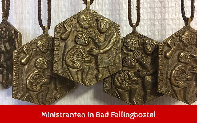 Ministranten in Bad Fallingbostel