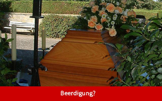 Beerdigung Was Tun